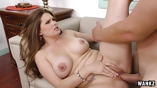 Allison Moore & Jerry in Busty Step-Mom Fucks Her Step-Son For Revenge - BangMyStepmom