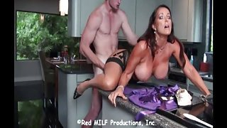 Step Mom Internal Creampie Big Boobs