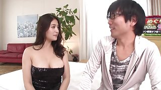 Best Japanese model Megu Fujiura in Hottest handjobs, big tits JAV scene