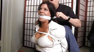 Bdsm otngagged bubble housewife