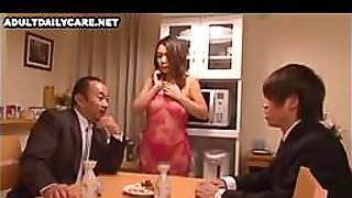 Japanese Wife Gets Fucked Thousand Times When Her Husband Is Working